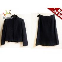 Balenciaga スーパーコピー(バレンシアガ コピー) スカートスーツ38 レディース 黒-1