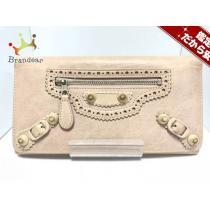 バレンシアガ スーパー コピー 長財布 マネージャイアントカバード 233590 ピンク レザー-1