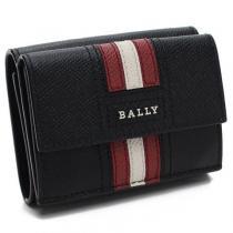 バリー 3つ折り財布 TEIR.LT 10 BLACK/RED メンズ-1