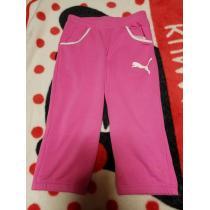 プーマ コピー、ピンクの綿素材パンツ-1