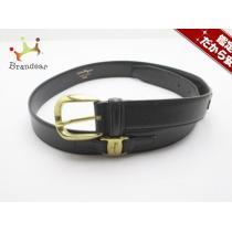 サルバトーレフェラガモ スーパー コピー ベルト85 ヴァラ 黒×ゴールド レザー×金属素材-1
