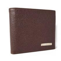 コピー新品同様ブルガリ スーパー コピー財布メンズダークブラウン二つ折-1