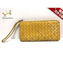 ボッテガヴェネタ スーパーコピー 長財布 イントレチャート B00170672U オレンジ×白 L字ファスナー-1