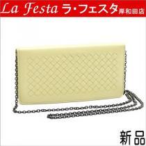 ◆新品偽物◆ボッテガヴェネタ スーパー コピー【人気】チェーン付き長財布/箱袋-1