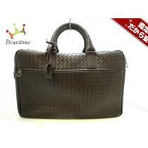 ボッテガヴェネタ スーパーコピー ビジネスバッグ美品  イントレチャート 246615 ダークブラウン-1