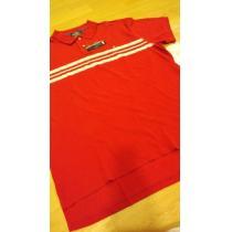 新品POLORALPH LAUREN コピー カノコポロシャツ 赤ボーダーサイズXL→2XL位-1