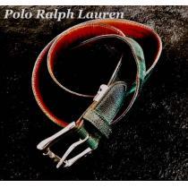 【POLO】ラルフローレン コピー Vintage レザーステッチベルト Free-1