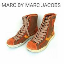 MARC JACOBS  ハイカット スニーカー スウェード レザー-1