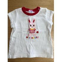美品 ミキハウス スーパー コピー Tシャツ 90cm-1