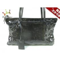 MIUMIU スーパー コピー(ミュウミュウ コピー) ショルダーバッグ - 黒 スパンコール×レザー-1