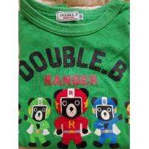 ミキハウス スーパーコピー。ダブルB長袖Tシャツ120cm-1