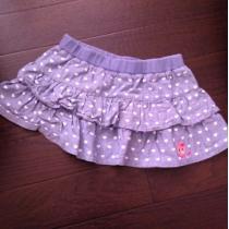ミキハウス  スカート90-1