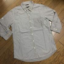 美品UNITED ARROWS コピー デザインストライプシャツ アローズ-1