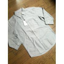 新品UNITED ARROWS スーパーコピー 7分丈ドット柄シャンブレーシャツ アローズ-1