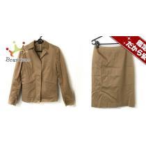 ユナイテッドアローズ スーパー コピー スカートスーツ38 レディース ライトブラウン WORK FOR HOLIDAY-1
