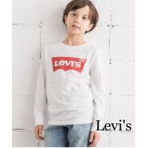 定価3,132円【新品】Levi's kids ロゴ入りロングスリーブTシャツ-1