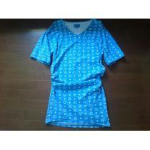 MCM ×tisa×phenomenon コラボ ワンピ型Tシャツ Sサイズ 中古-1