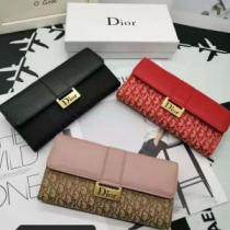 とにかく完璧ブランド新作 ディオール DIOR 秋服コーデ2019年版 3色可選 財布/ウォレット大胆なチェックの人気トレンド-1