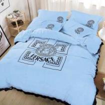 睡眠の楽しみヴェルサーチコピー 掛け布団カバー セット おすすめ VERSACE 寝具 おしゃれ品質 肌触りよし 人気ランキング多色可選-1