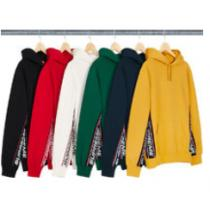 最新入荷Supreme Text Rib Hooded Sweatshirt AW1...