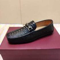 ローファー メンズ Ferragamo 落ち着気ある秋冬スタイルを楽しむ フェラガモ 靴 ブランド スーパーコピー ブラック おすすめ 激安-1