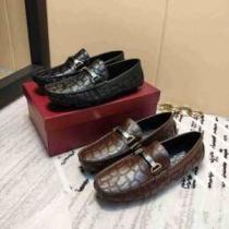 ローファー メンズ Ferragamo 個性的なコーデに合わせやすい フェラガモ ブランド 靴 コピー ブラック コーヒー オシャレ 最高品質-1