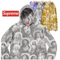 トレンド人気おすすめSupreme Jesus and Mary Hooded Sw...