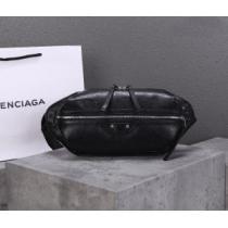 シンプルシックなコーデに最適 バレンシアガ ウエストバッグ メンズ BALENCIAGA コピー ブラック ブランド シンプル 最低価格-1
