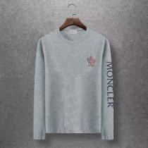 2019年秋冬コレクションを展開中 秋のトレンドを先取り モンクレール MONCLER 長袖Tシャツ 3色可選-1