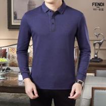 長袖Tシャツ 3色可選 2019年秋冬コレクションを展開中 季節に合わせて秋冬トレンド フェンディ FENDI-1