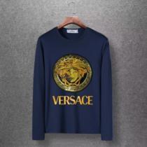 ヴェルサーチ VERSACE 長袖Tシャツ 4色可選 2019年秋冬コレクションを展開中 この秋発売した新作を取り入れる-1