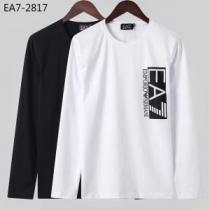 2020秋冬流行ファション アルマーニ ARMANI 長袖Tシャツ 2色可選 ファッショントレンドを早速チェック-1
