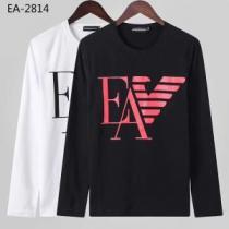 長袖Tシャツ 2色可選 着心地もなめらかで快適 2019-2020秋冬のファッション アルマーニ ARMANI-1