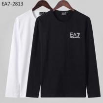 アルマーニ ARMANI 長袖Tシャツ 2色可選 秋冬ファッションコーディネート 2019-20秋冬取り入れやすい-1