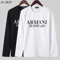 2色可選 長袖Tシャツ アルマーニ ARMANI【2019秋冬トレンド】押さえておきたい 支持率が高い秋冬最新作-1