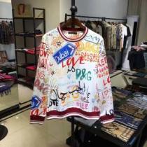 Dolce&Gabbanaスウェットシャツ メンズ 新作 おすすめプリントロゴ  人気ランキングブラン ドルガバ パーカー コピー 安い 通販-1