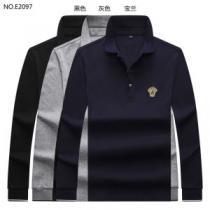 ヴェルサーチ VERSACE 長袖Tシャツ 3色可選 先取り 2019/2020秋冬ファッション 優しいのに存在感-1
