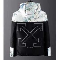 秋冬トレンドを押さえたコーデスタイル  メンズ ダウンジャケット今 人気高い新作おすすめ2019トレンド  Off-White オフホワイト 絶対的におしゃれ着こなし-1