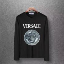 4色可選 長袖Tシャツ 今年注目すべき秋冬ファッション 2019トレンドアイテム激安 ヴェルサーチ VERSACE-1