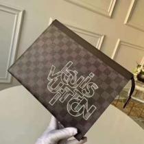 コーデをより洗練させるアイテム Louis Vuitton クラッチバッグ ルイ ヴィトン バッグ コピー メンズ コーヒー おしゃれ 最高品質-1