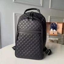 ルイ ヴィトン リュック コピー 圧倒的なデザインを誇る限定新作 メンズ Louis Vuitton ブラック ダミエ おしゃれ 最低価格-1