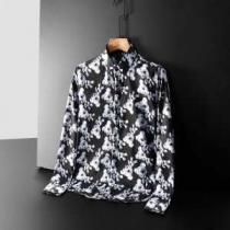 価格もデザインも抜群の2019秋冬新作 ドルチェガッバーナ コピー Dolce&Gabbana長袖シャツ かっこいい魅力を演出 個性的な素材感も魅力-1