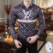 ルイヴィトン メンズ シャツ トレンドあるコーデが完成 Louis Vuitton MONOGRAM モノグラム コピー ブラック ブランド 格安-1