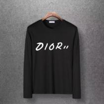 長袖tシャツ メンズ DIOR シックなデザインが魅力 ディオール 服 通販 コピー 多色選択可 ストリート ロゴ 安い-1