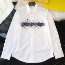 ディースクエアード メンズ シャツ 大人ライクなシンプルを演出 D SQUARED2 airbrush logo コピー ホワイト デイリー お買い得-1