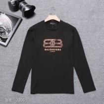 バレンシアガ Balenciaga 長袖Tシャツ 3色可選 2019トレンドカラー秋冬セール 秋トレンドの新定番-1