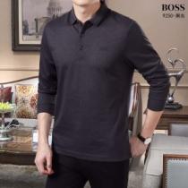 ヒューゴボス HUGO BOSS 長袖Tシャツ 4色可選 注目の秋ファッション一番 先取り 2019/2020秋冬ファッション-1