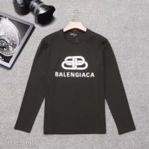 気になる2019年秋のファッション バレンシアガ Balenciaga 長袖Tシャツ 3色可選 人気の秋冬新作再登場-1
