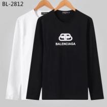 現在流行中のおすすめ人気 最重要!2019秋冬トレンド バレンシアガ Balenciaga 長袖Tシャツ 2色可選-1