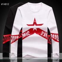 ディースクエアード DSQUARED2 長袖Tシャツ 2色可選 2019-20秋冬トレンドファッション 活躍するトレンドアイテム-1
